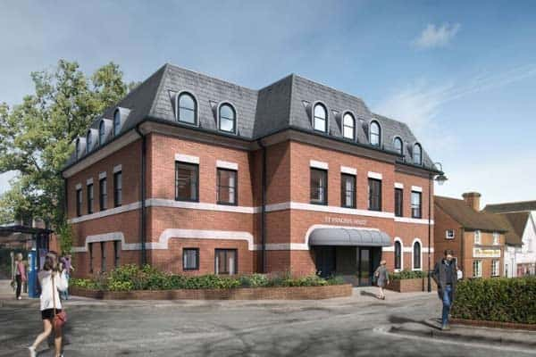 St Pancras House Basingstoke: Ocea Commercial to Residential Property Development