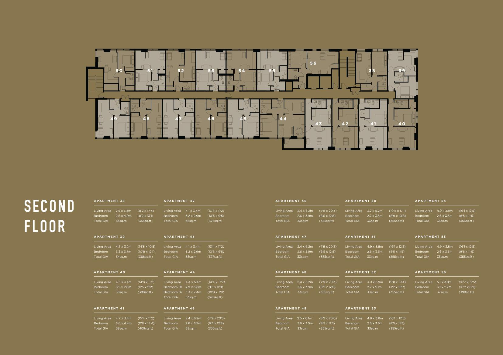 2 Floor Furness House