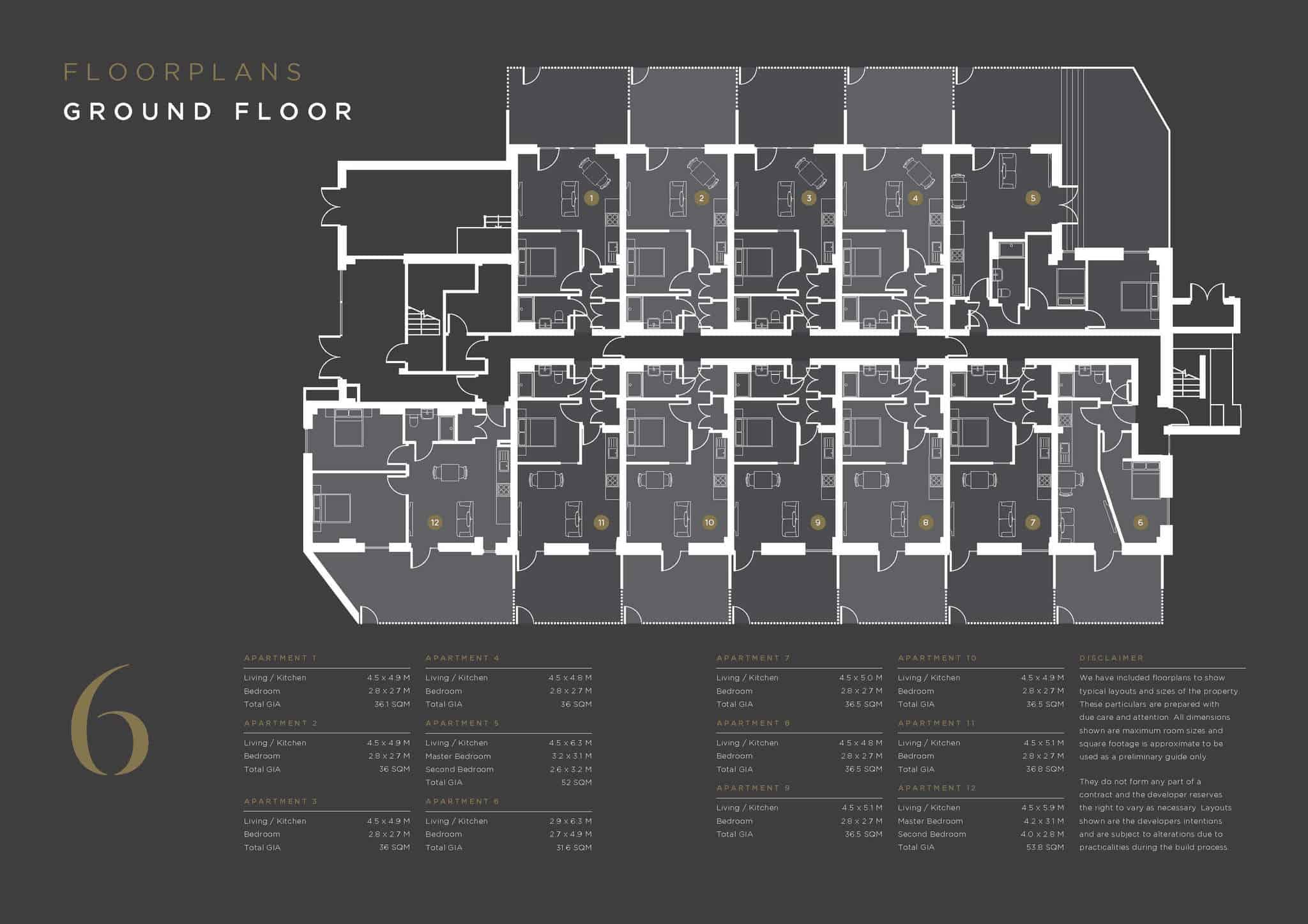 Coates House Floorplan 1