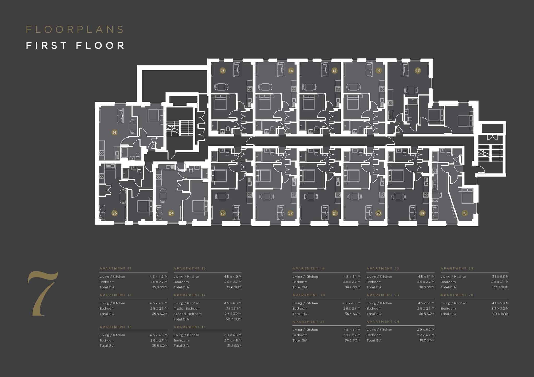 Coates House Bristol UK: Ocea Floorplan Commercial to Residential Property Conversion Apartment