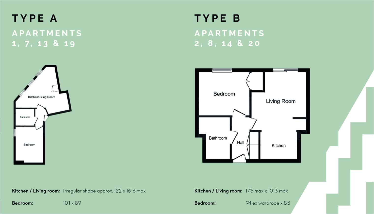 Lance House Ocea Floorplan Commercial to Residential Property Conversion Apartment