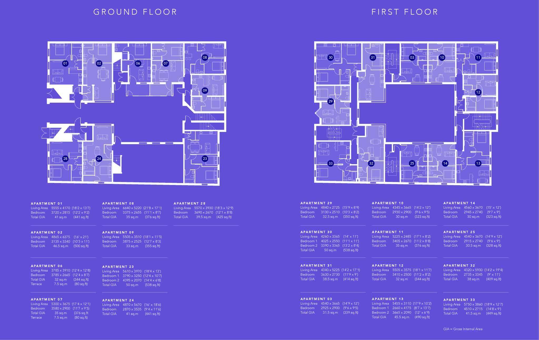 Saxon Gate Floor Plan 1
