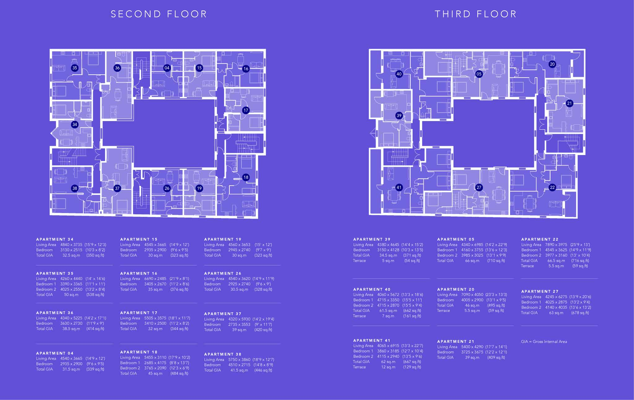 Ocea Saxon Gate Floorplan Commercial to Residential Property Conversion Apartment