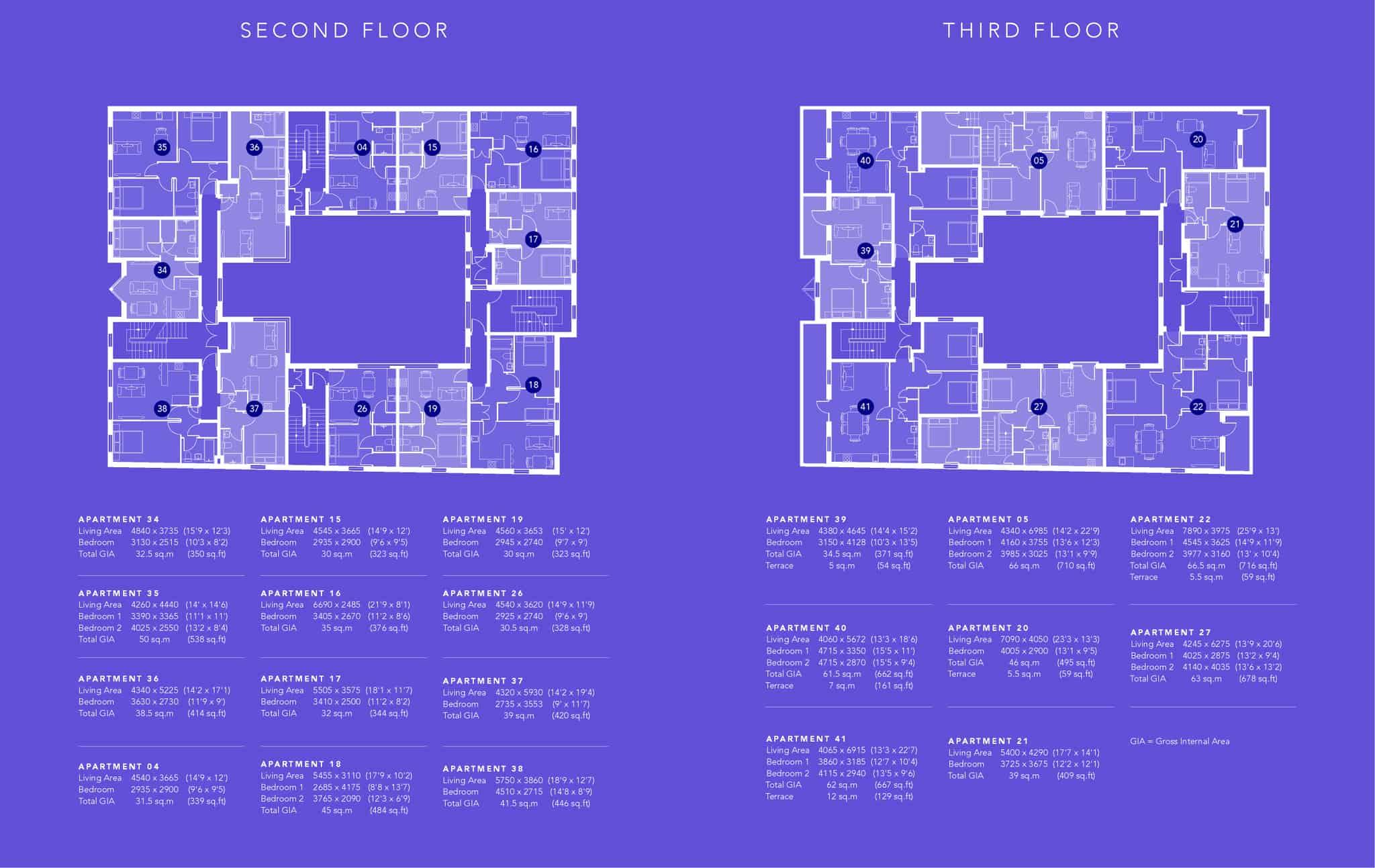 Saxon Gate Floor Plan 2