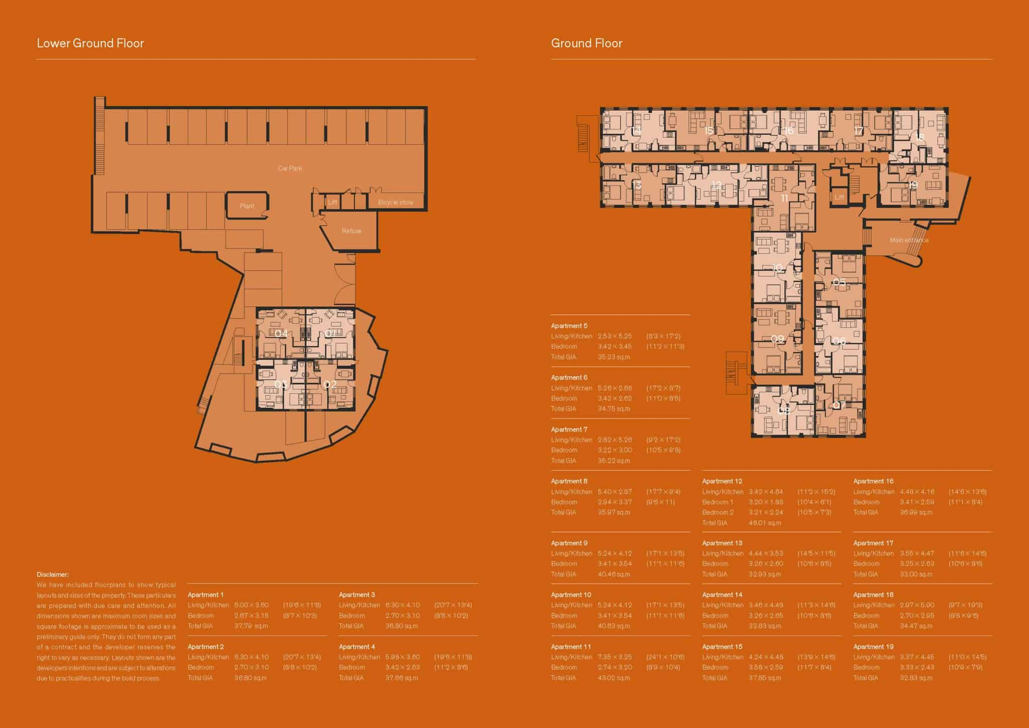 Tempus Court High Wycombe: Ocea Floorplan Commercial to Residential Property Conversion Apartment