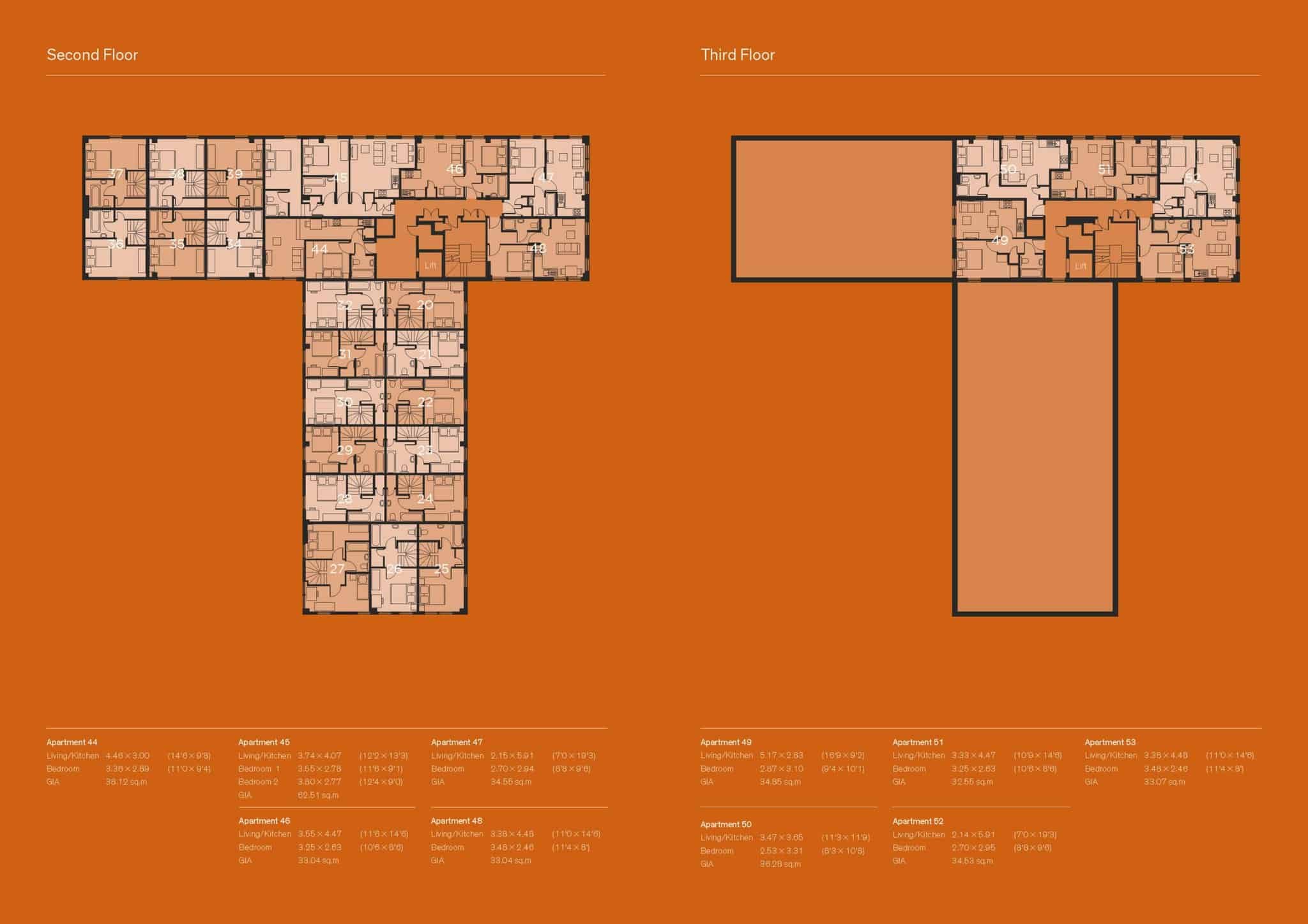 Tempus Court Ocea Floorplan Commercial to Residential Property Conversion Apartment