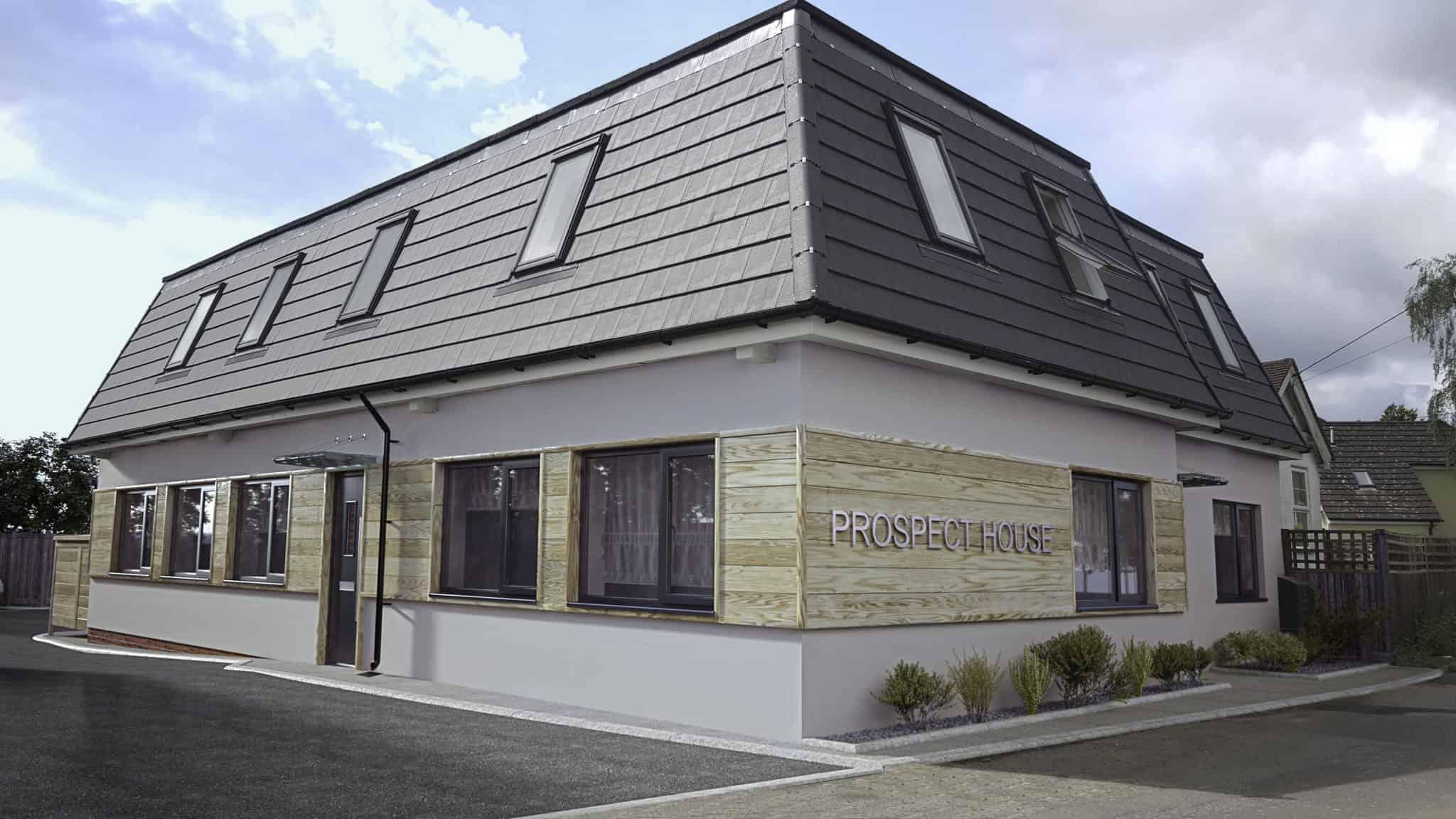 Prospect House Farnham: Ocea Commercial to Residential Property Development