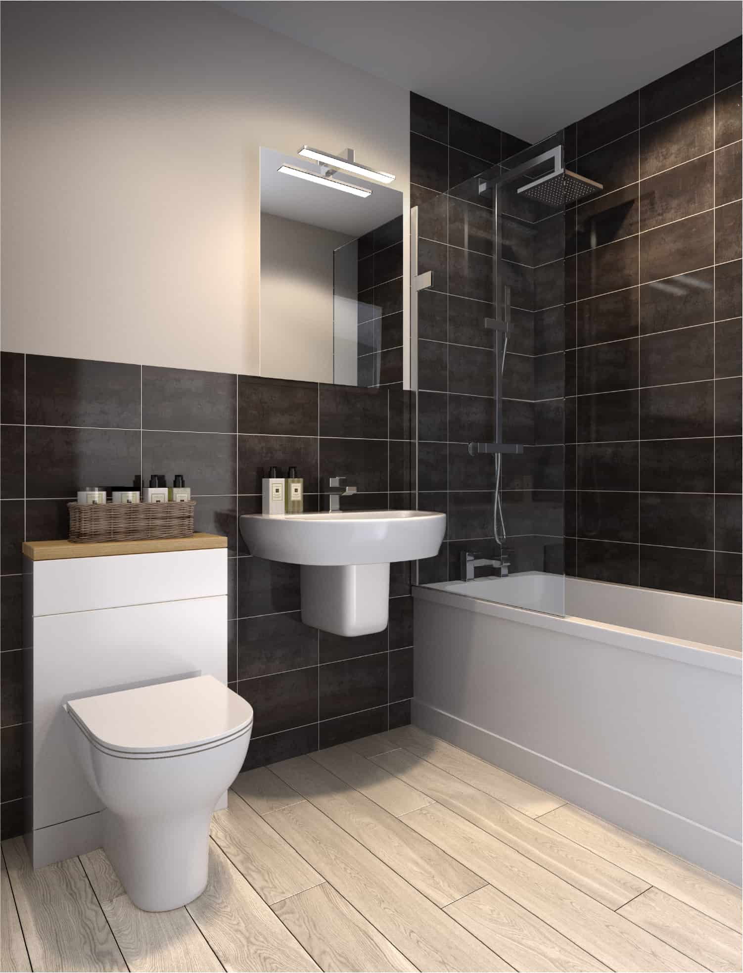 St Pancras Basingstoke CGI Image Interior: Commercial to Residential Property Conversion Apartment