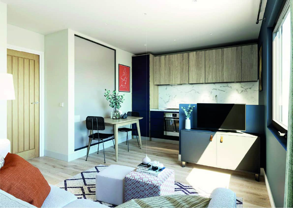 Furness House Interior Commercial to Residential Property Conversion Apartment