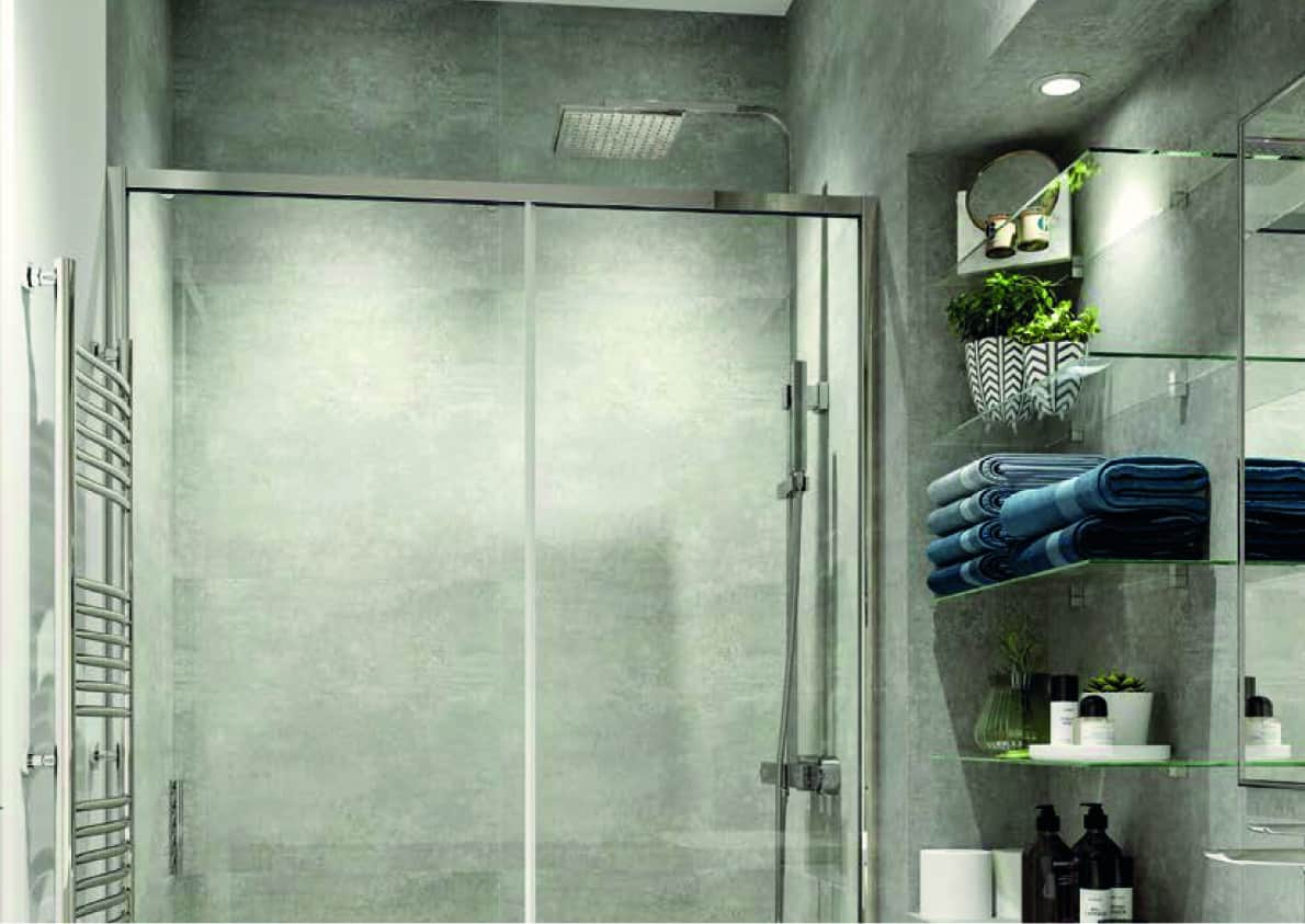 Furness House Bathroom Interior Redhill: Commercial to Residential Property Conversion Apartment