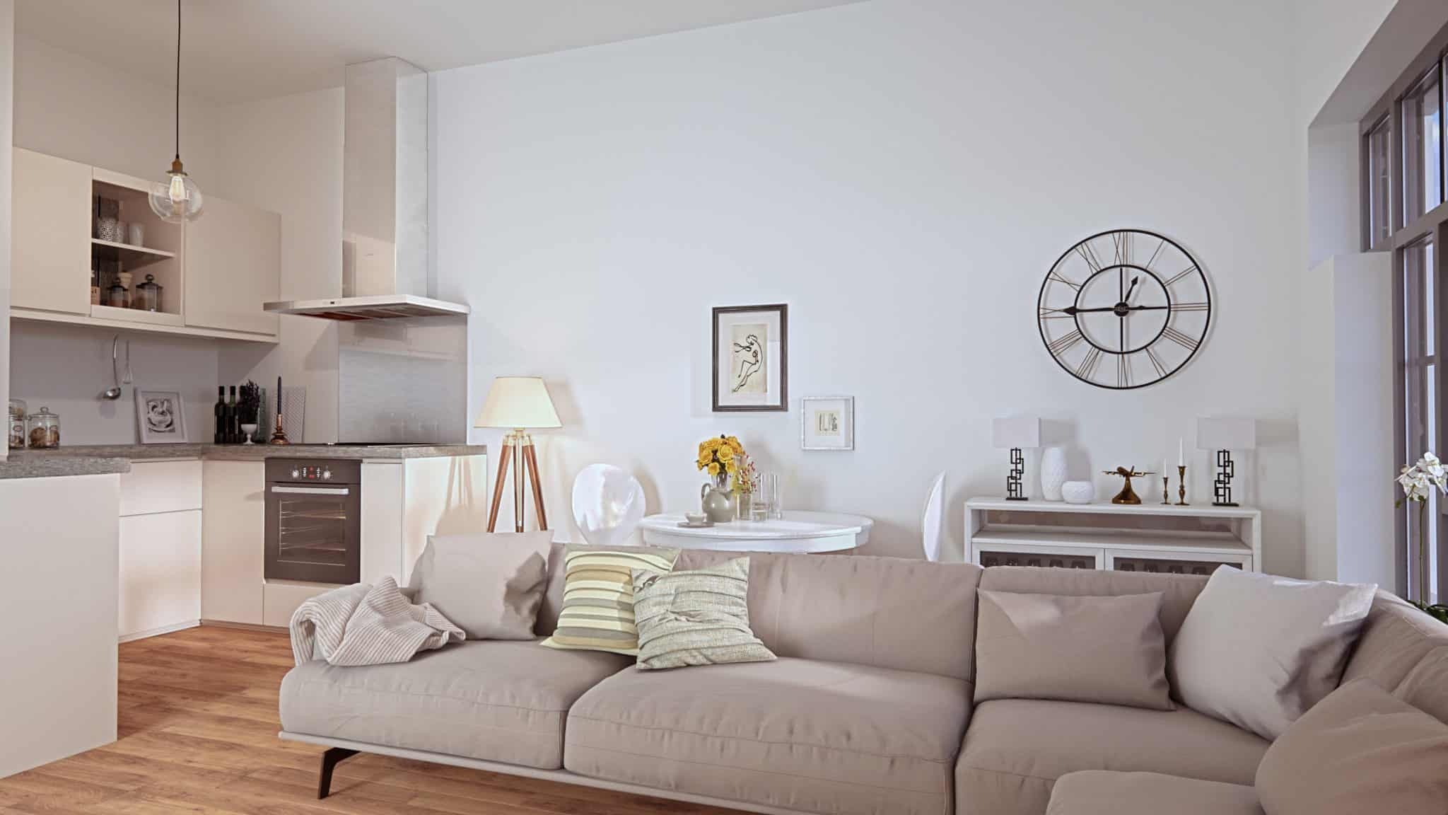 Hampton House Interior Commercial to Residential Property Conversion Apartment