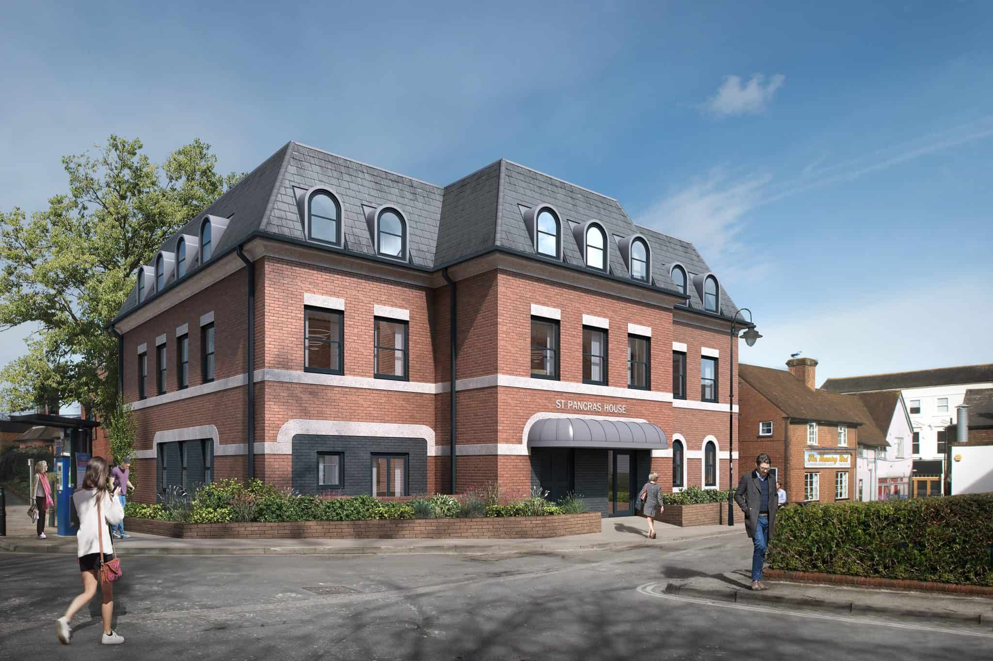 St Pancras House Ocea Commercial to Residential Property Development