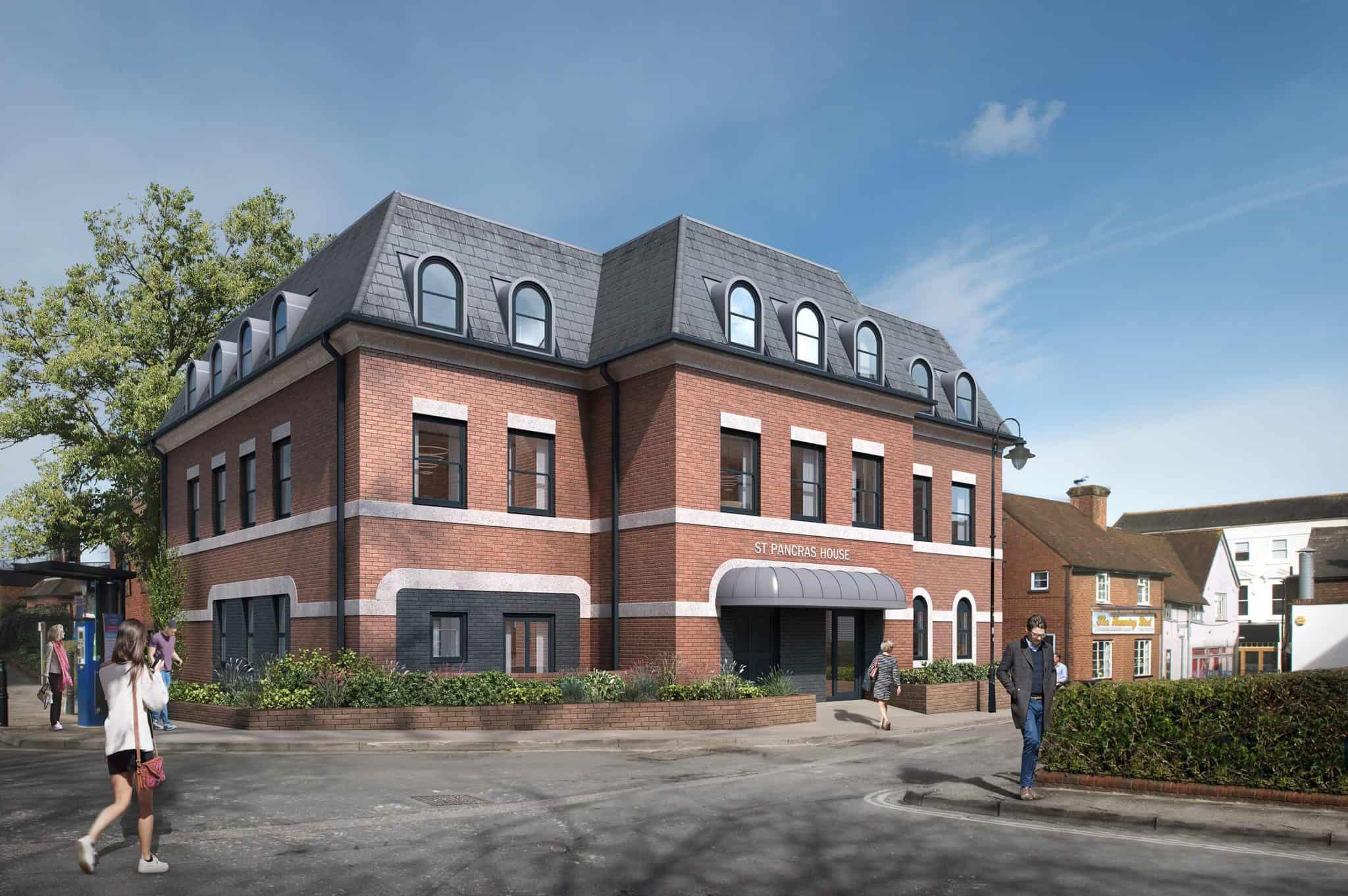 St Pancras House Basingstoke: Ocea Commercial to Residential Property Development