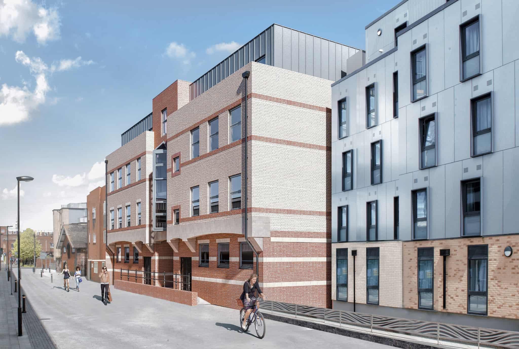 Saxon Gate Southampton Ocea Commercial to Residential Property Development
