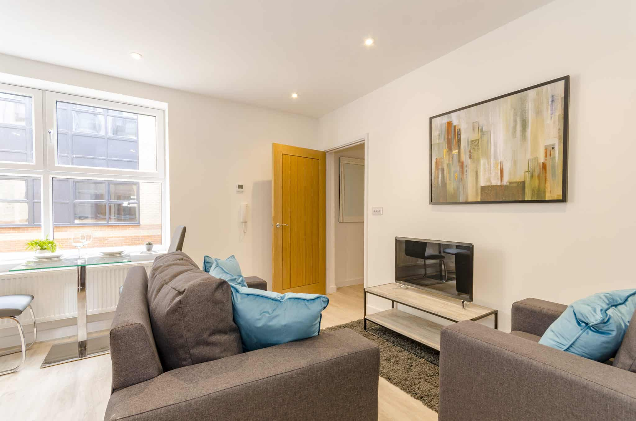 Saxon Gate Interior Commercial to Residential Property Conversion Apartment