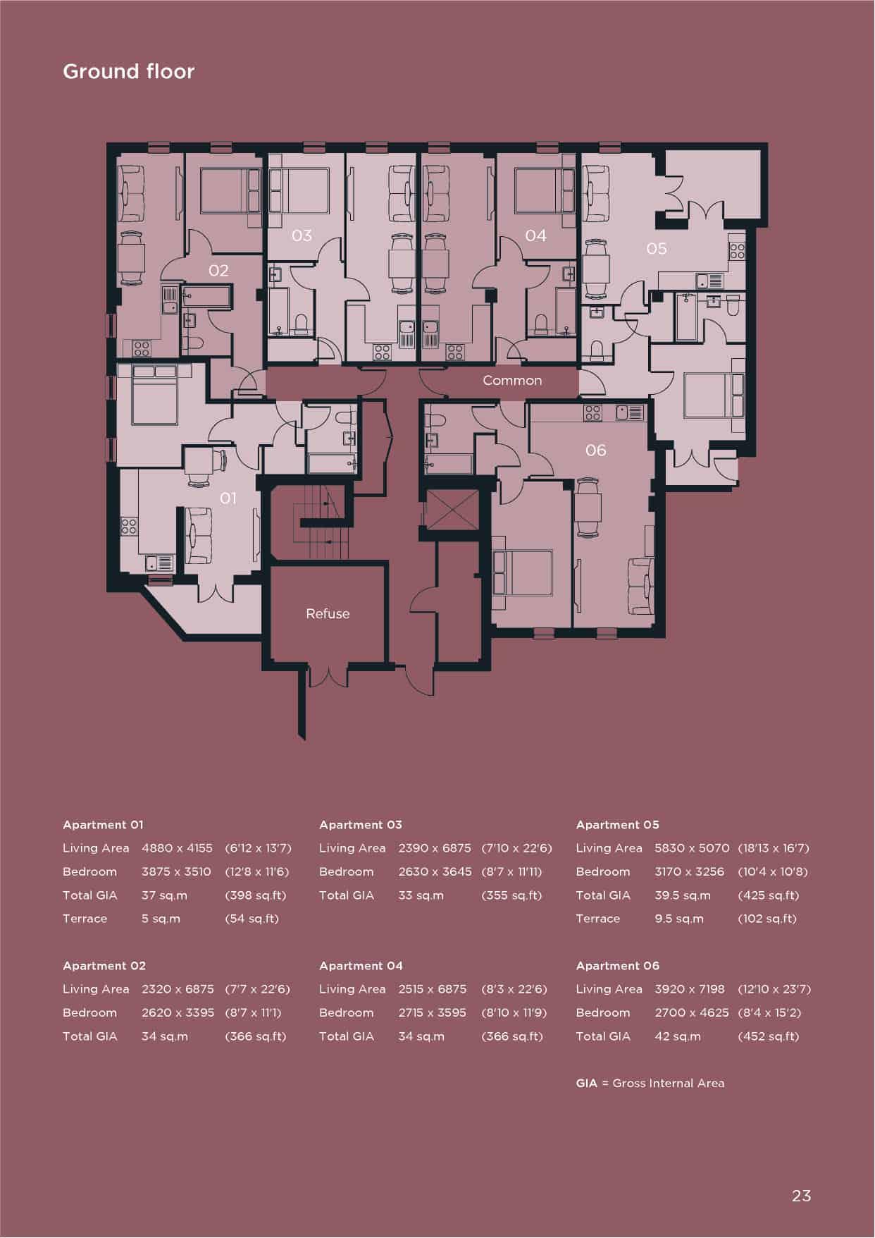 St Pancras Ground Floor